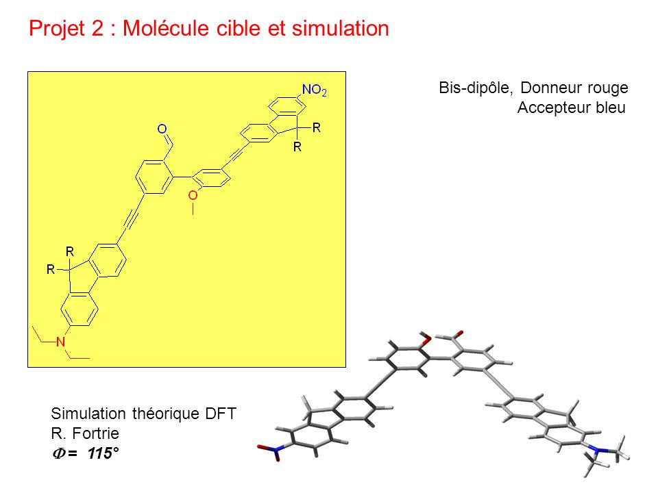 Projet 2 : Molécule cible et simulation
