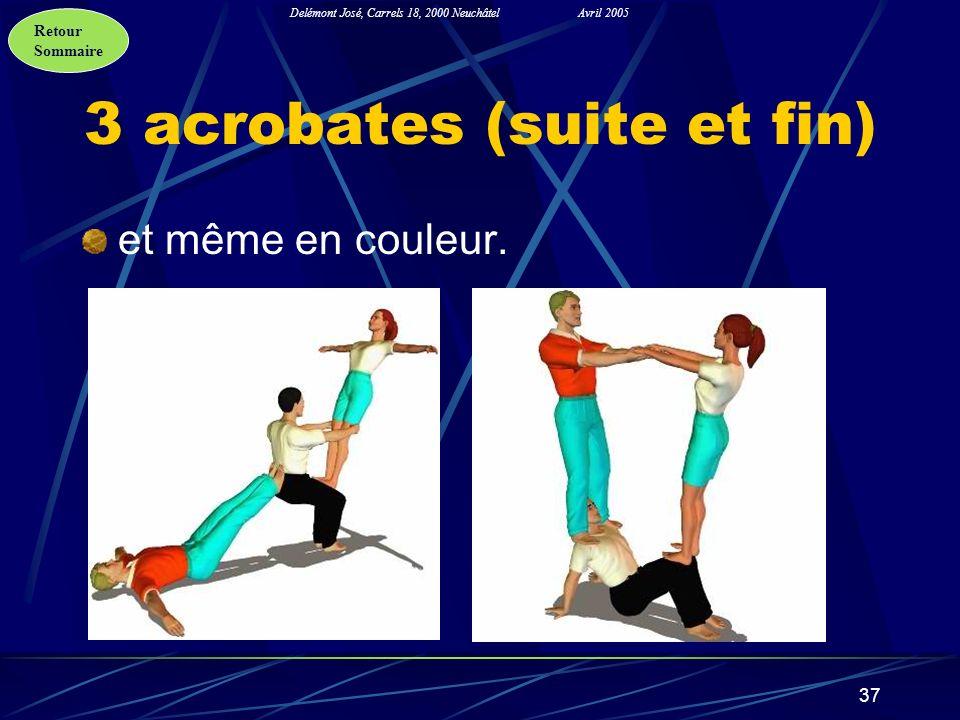 3 acrobates (suite et fin)