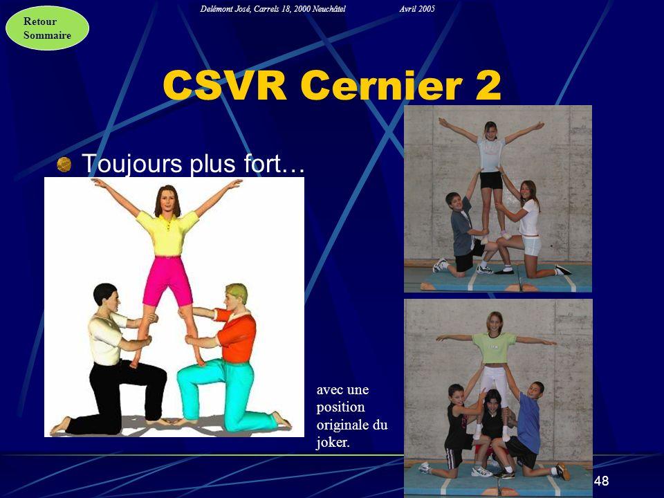CSVR Cernier 2 Toujours plus fort…