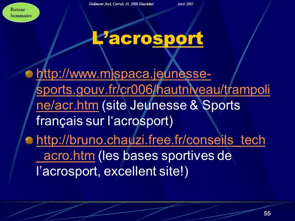 L'acrosport http://www.mjspaca.jeunesse-sports.gouv.fr/cr006/hautniveau/trampoline/acr.htm (site Jeunesse & Sports français sur l'acrosport)