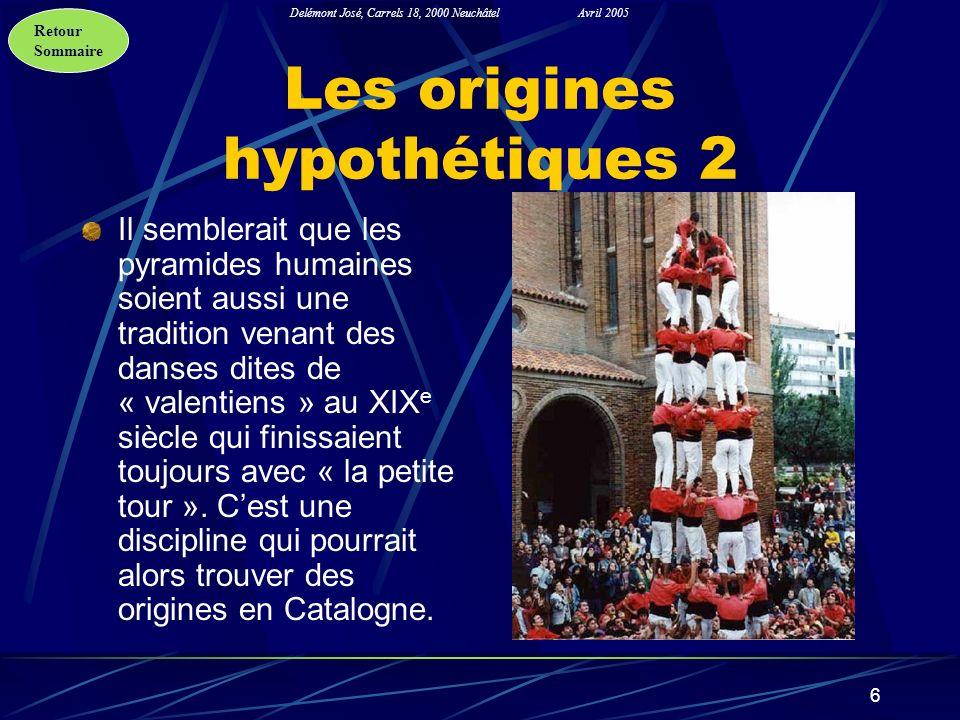 Les origines hypothétiques 2