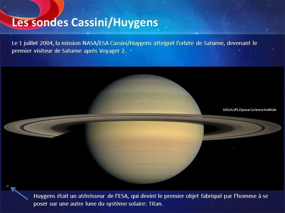 Les sondes Cassini/Huygens