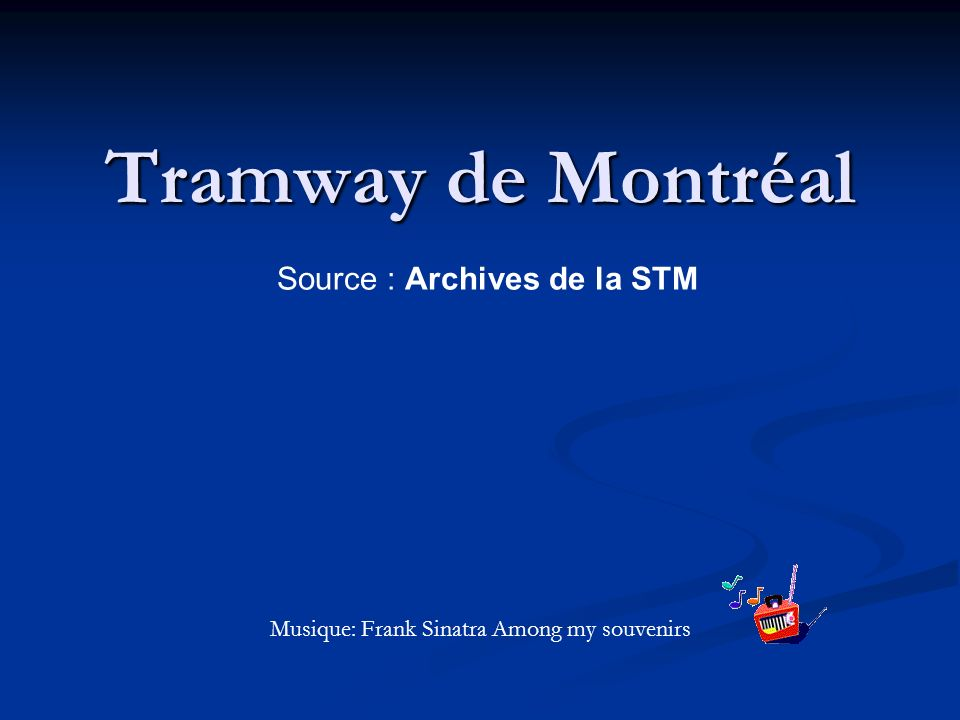 Source : Archives de la STM