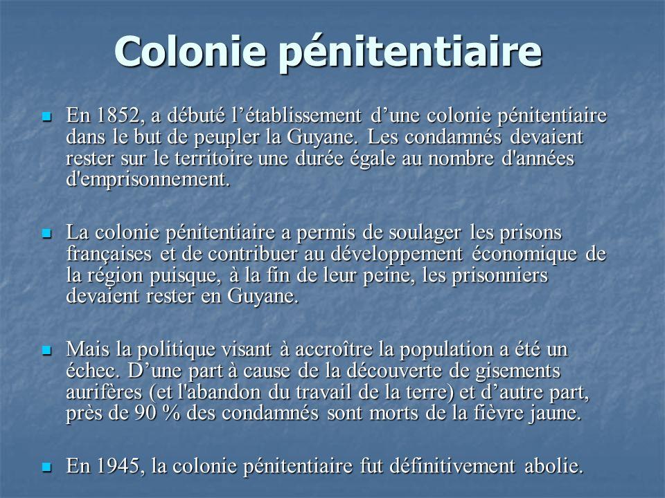 Colonie pénitentiaire