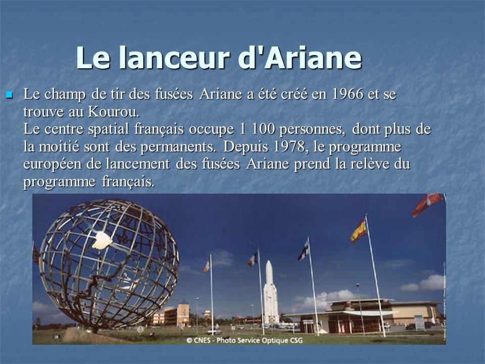 Le lanceur d Ariane