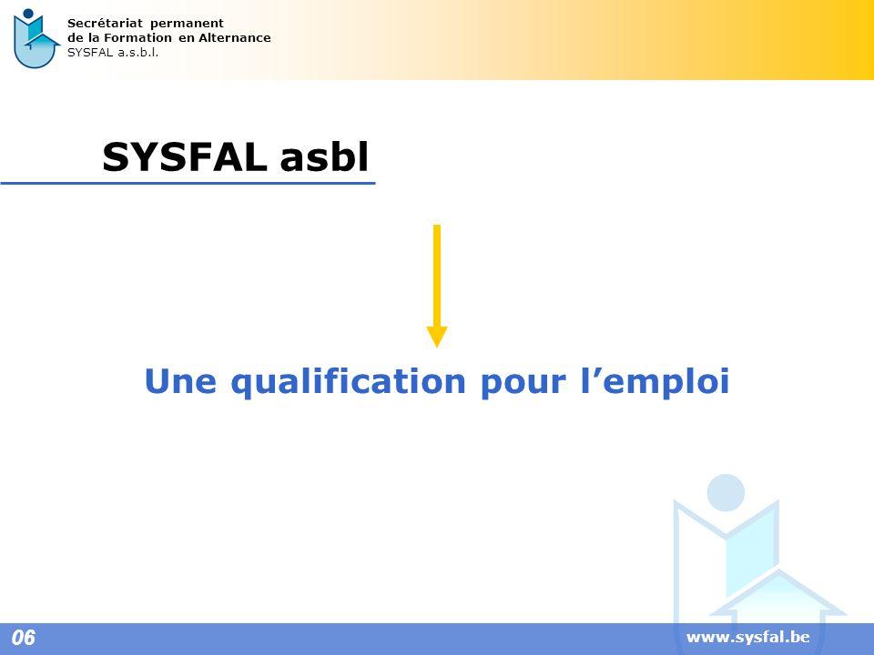 Une qualification pour l'emploi
