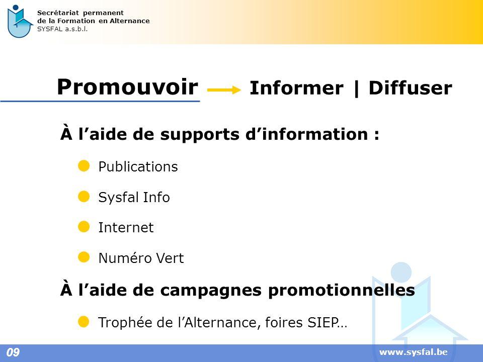 Promouvoir Informer | Diffuser