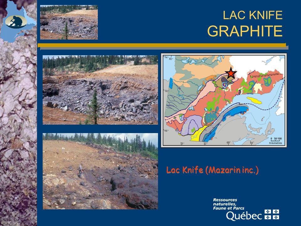 LAC KNIFE GRAPHITE Lac Knife (Mazarin inc.)