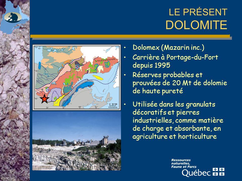 LE PRÉSENT DOLOMITE Dolomex (Mazarin inc.)