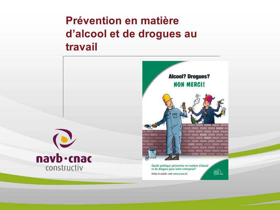 Prévention en matière d'alcool et de drogues au travail