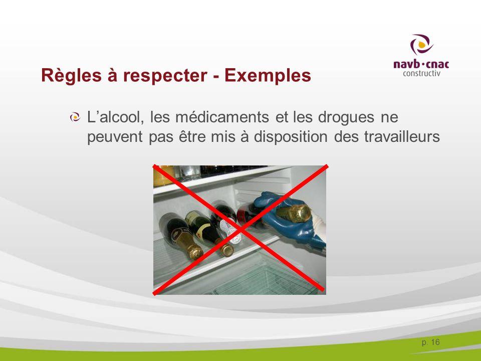Règles à respecter - Exemples
