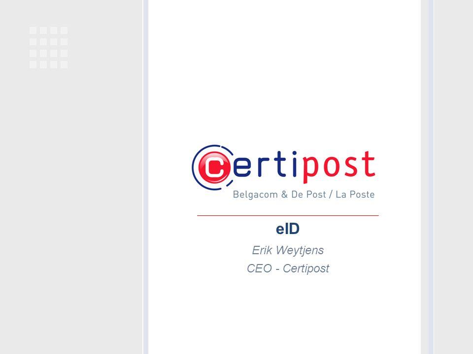 Erik Weytjens CEO - Certipost