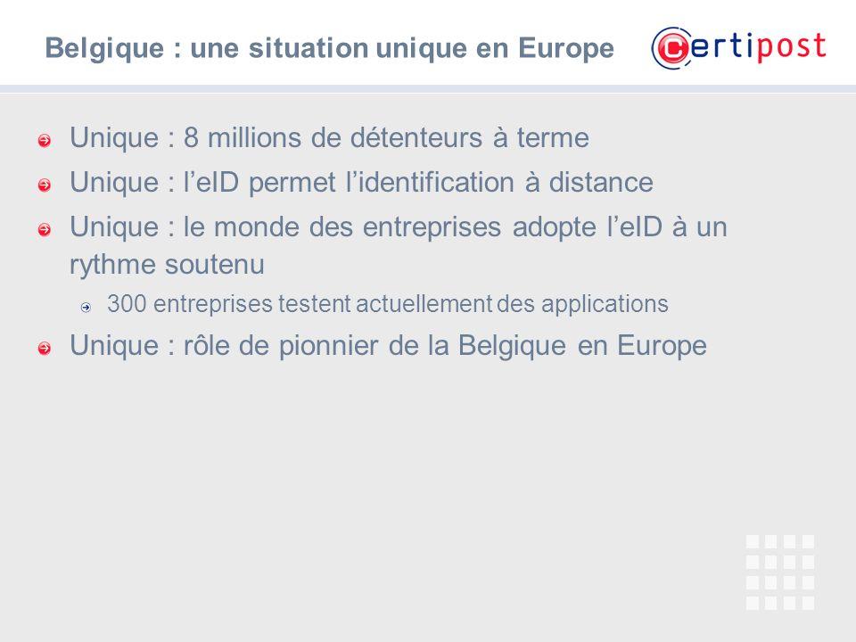 Belgique : une situation unique en Europe
