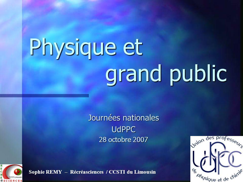 Physique et grand public