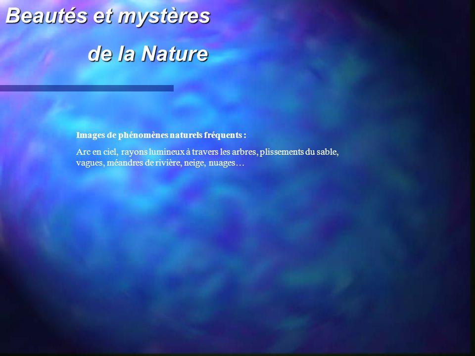 Beautés et mystères de la Nature