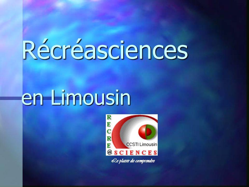 Récréasciences en Limousin