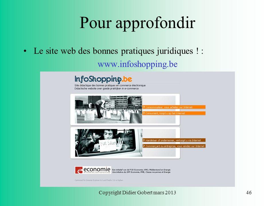 Copyright Didier Gobert mars 2013