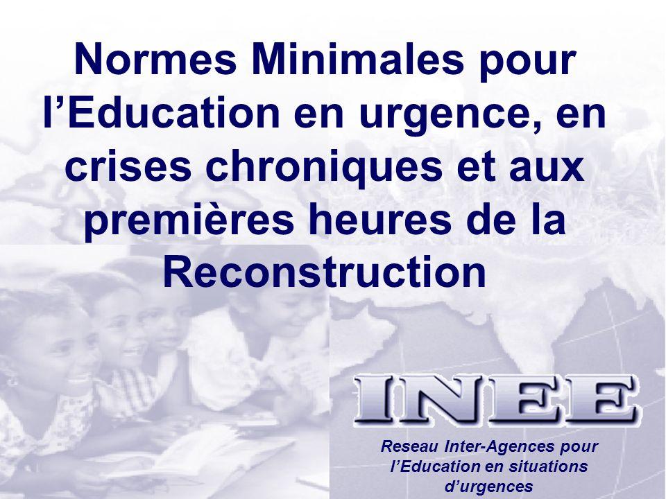 Reseau Inter-Agences pour l'Education en situations d'urgences