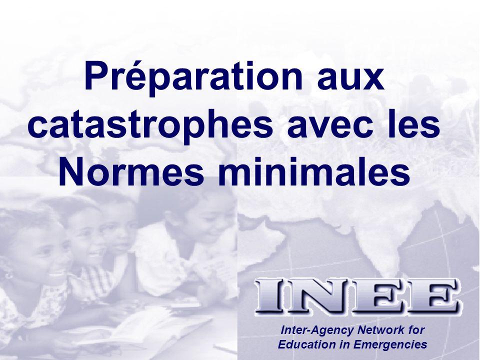 Préparation aux catastrophes avec les Normes minimales