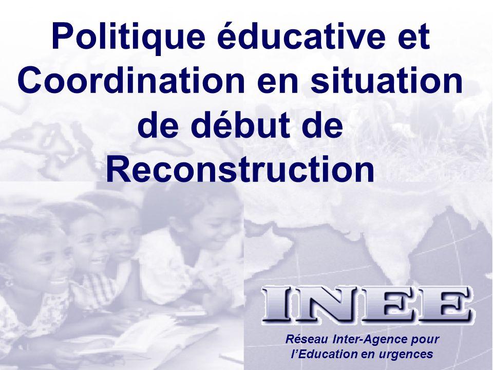 Réseau Inter-Agence pour l'Education en urgences