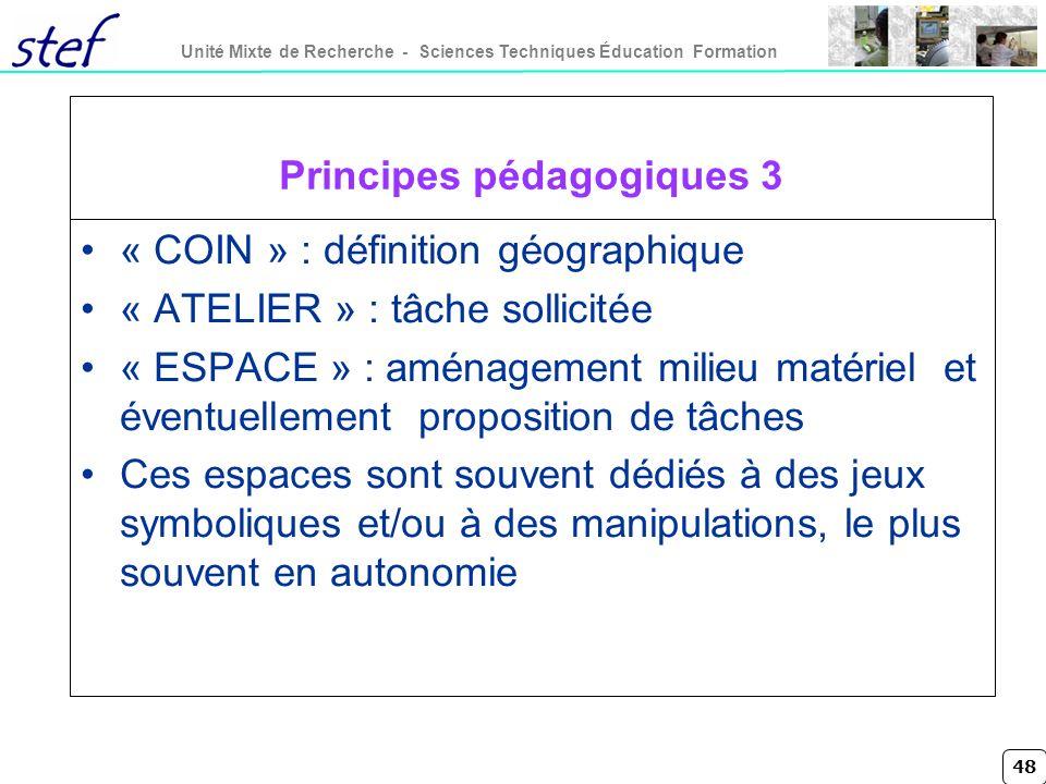 Principes pédagogiques 3