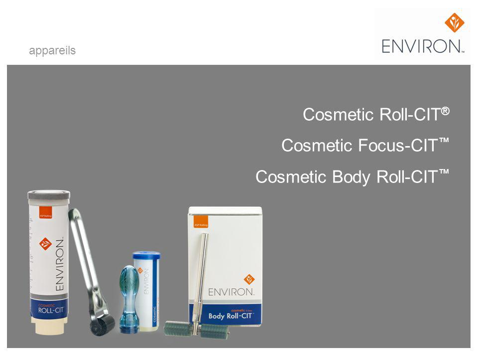 Cosmetic Roll-CIT® Cosmetic Focus-CIT™ Cosmetic Body Roll-CIT™