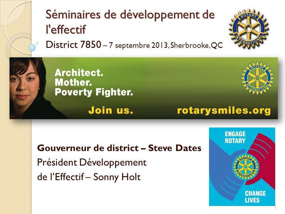 Séminaires de développement de l effectif