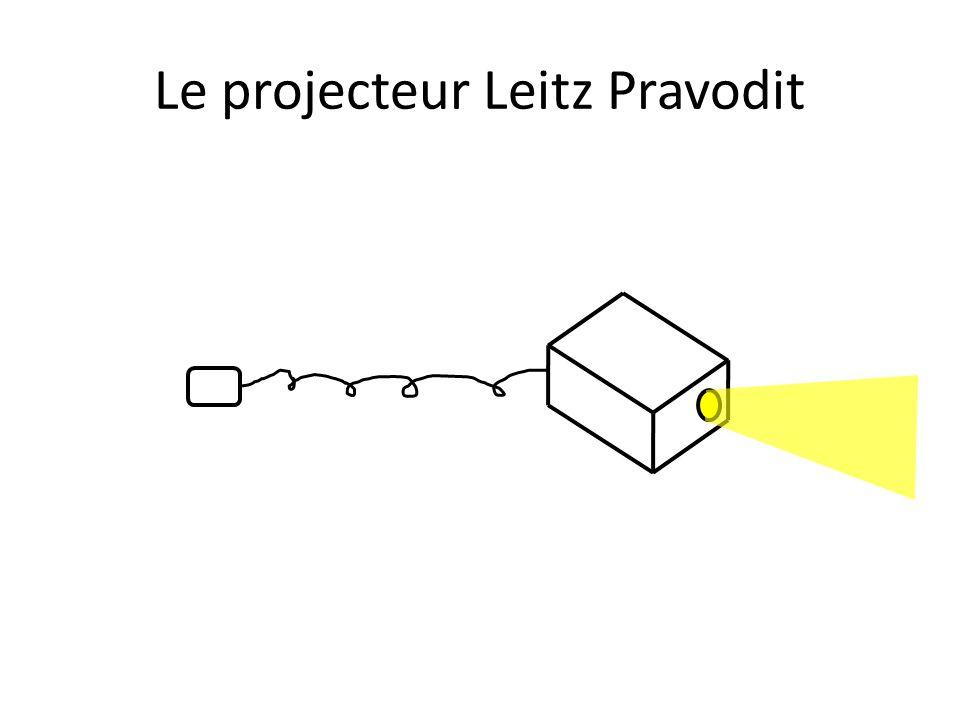 Le projecteur Leitz Pravodit