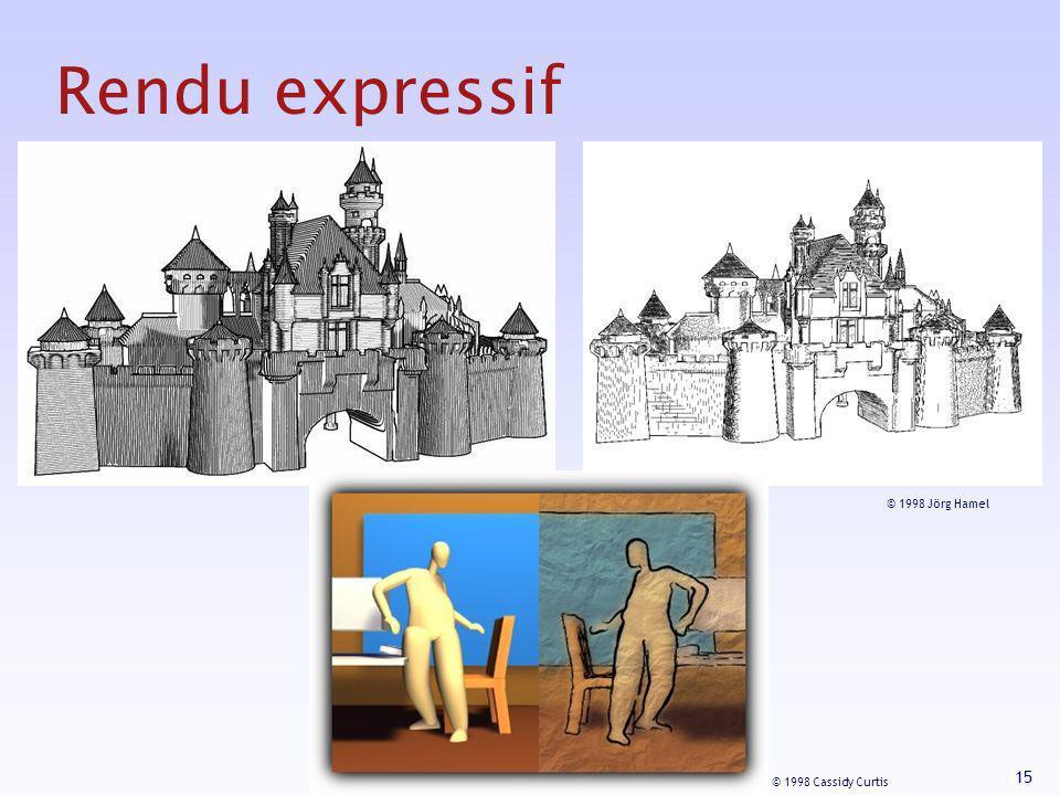 Rendu expressif © 1998 Jörg Hamel © 1998 Cassidy Curtis