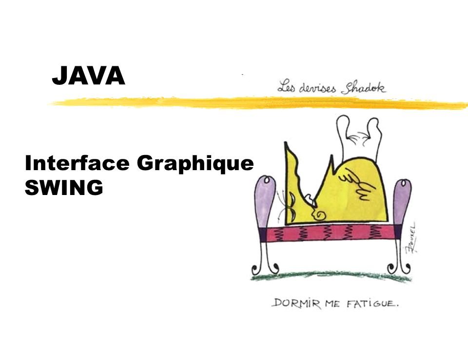 23/04/12 JAVA Interface Graphique SWING