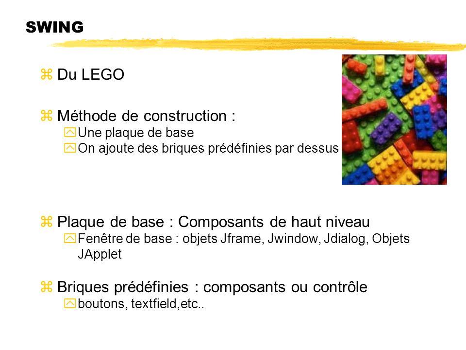 Méthode de construction :