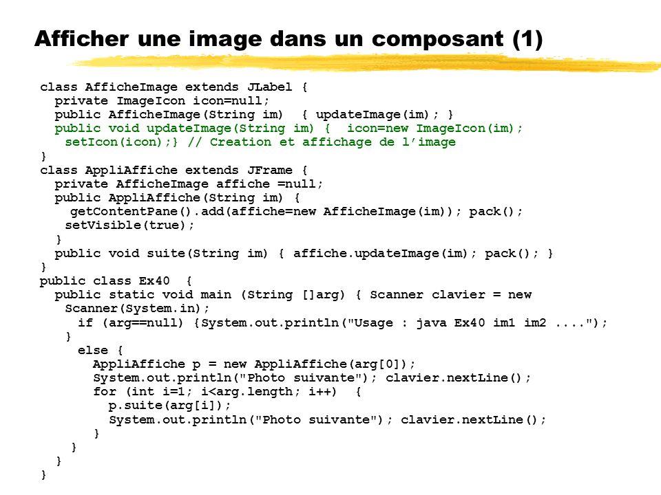 Afficher une image dans un composant (1)