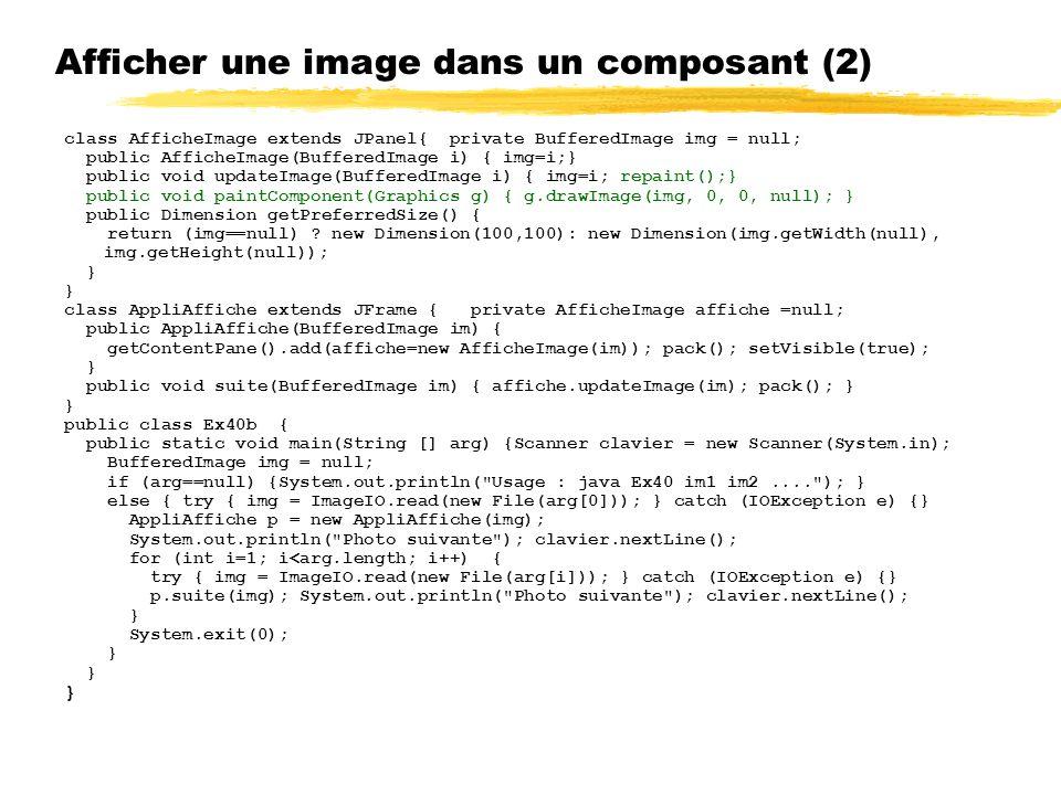 Afficher une image dans un composant (2)