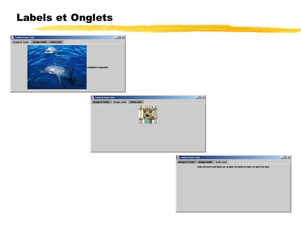 23/04/12 Labels et Onglets