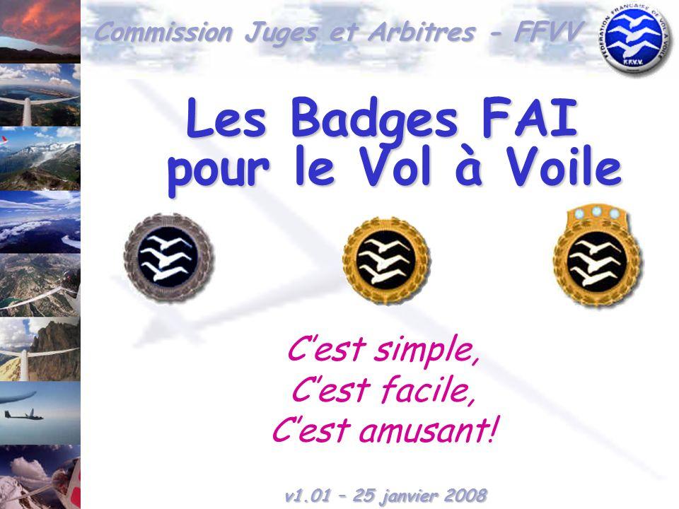 Les Badges FAI pour le Vol à Voile