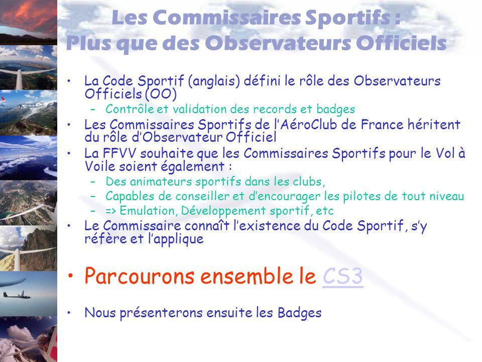 Les Commissaires Sportifs : Plus que des Observateurs Officiels