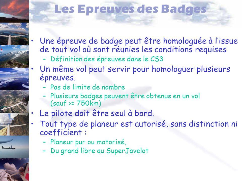Les Epreuves des Badges