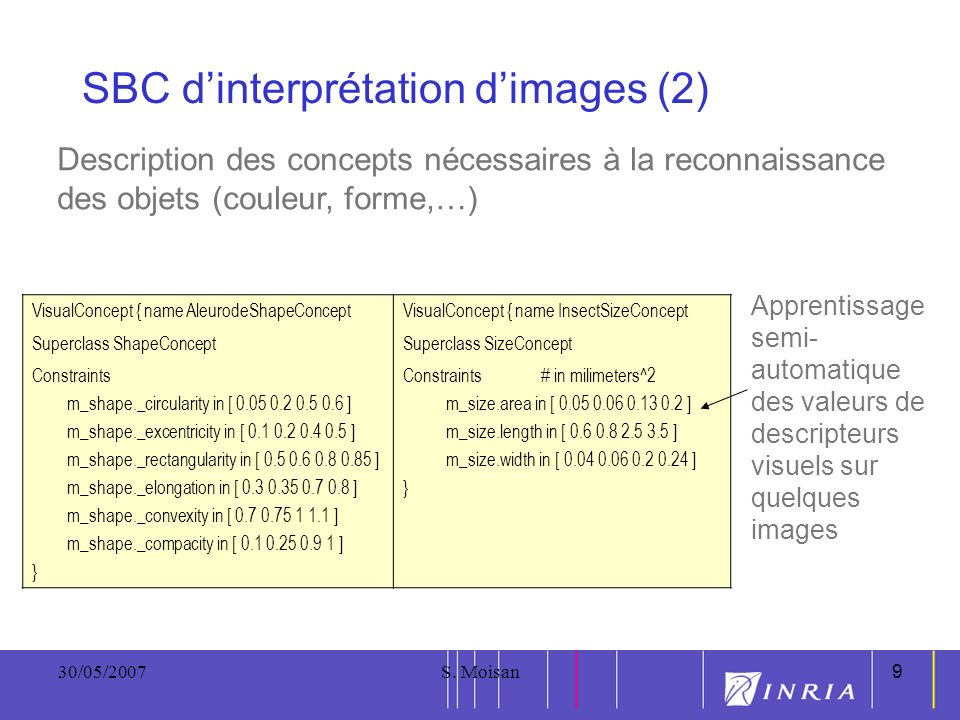 SBC d'interprétation d'images (2)