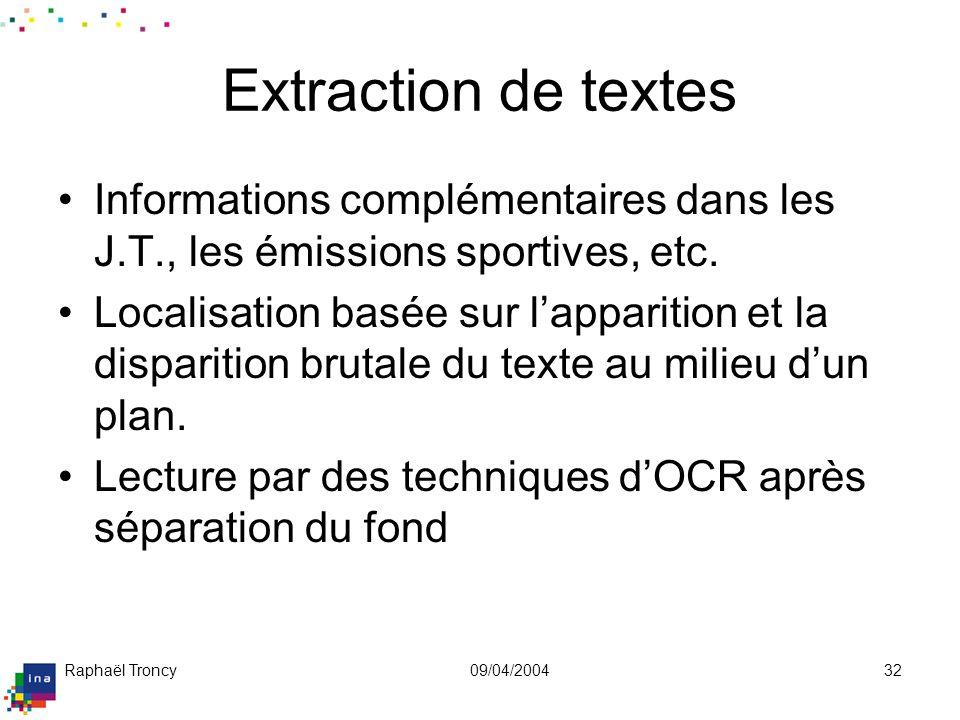 Exemple de détection de textes