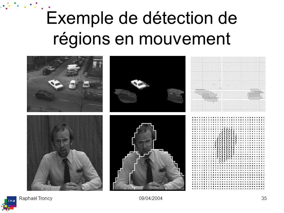 Exemple de mosaïque (mouvement de caméra)