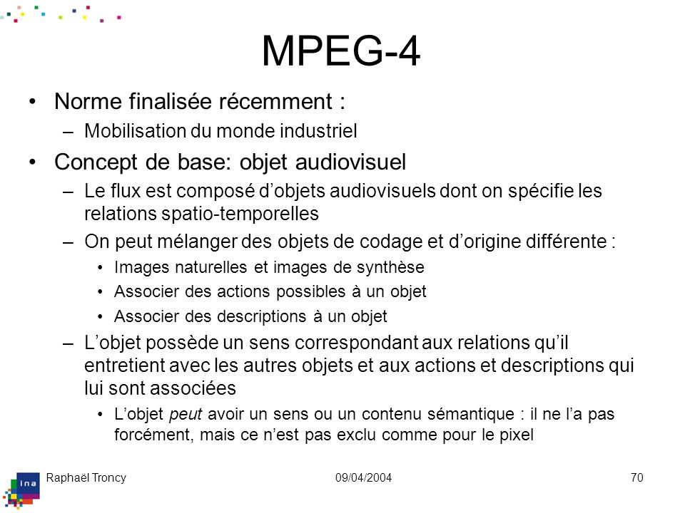 MPEG-7: Multimedia Content Description Interface