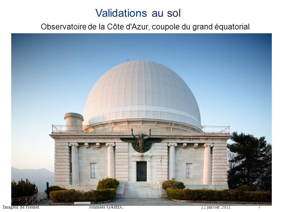 Observatoire de la Côte d Azur, coupole du grand équatorial