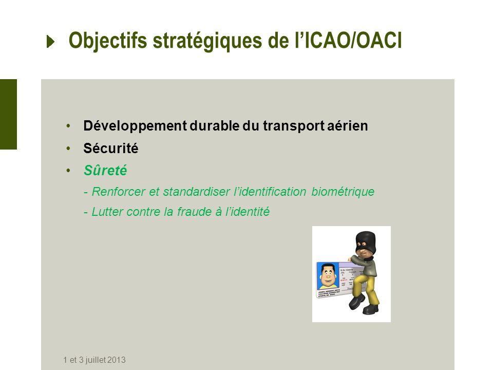 Objectifs stratégiques de l'ICAO/OACI