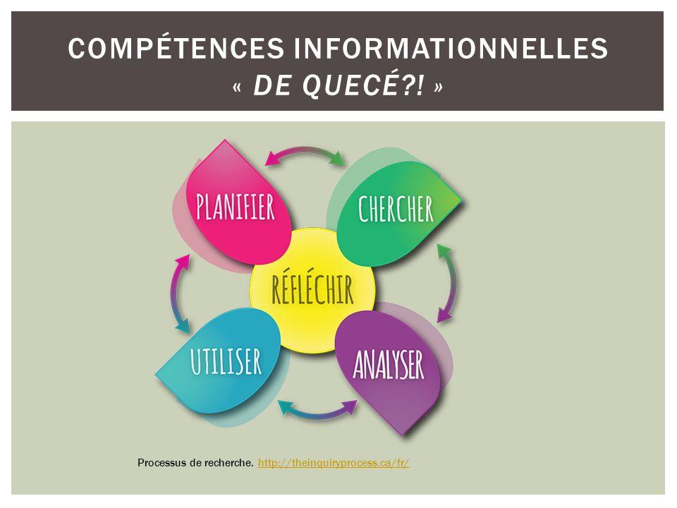 Compétences informationnelles « de quecé ! »
