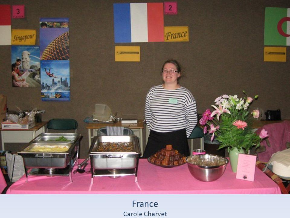 France Carole Charvet