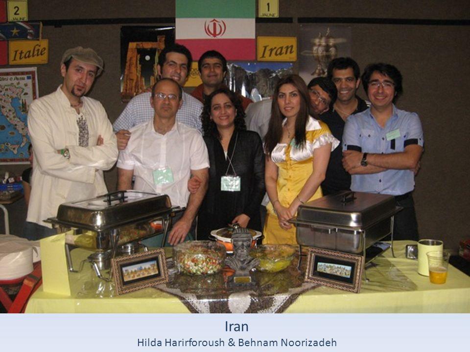 Hilda Harirforoush & Behnam Noorizadeh