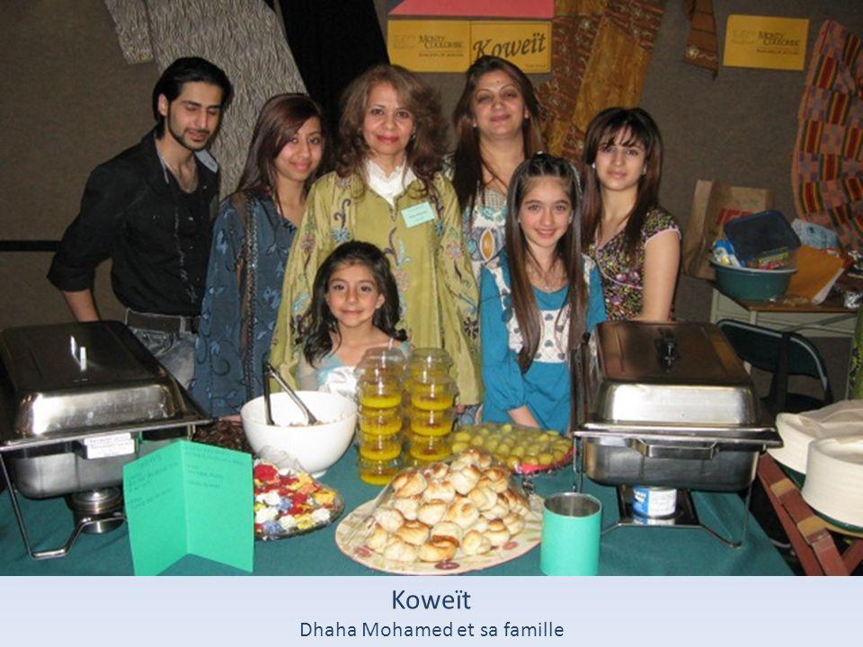 Dhaha Mohamed et sa famille