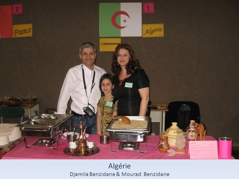 Djamila Benzidane & Mourad Benzidane