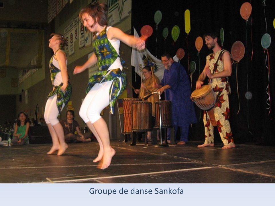 Groupe de danse Sankofa