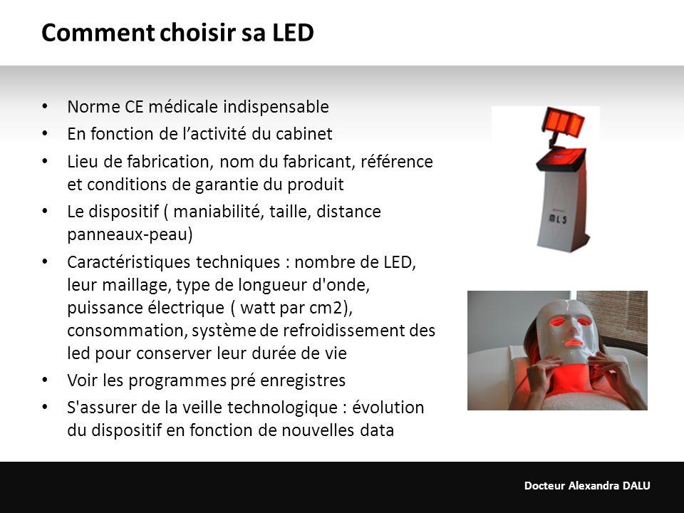 Comment choisir sa LED Norme CE médicale indispensable